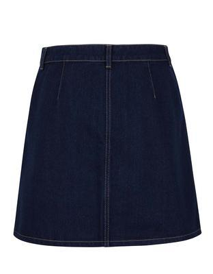 Dark blue denim skirt Miss Selfridge - 2