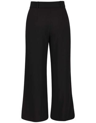 Black baggy pants with belt Dorothy Perkins - 2