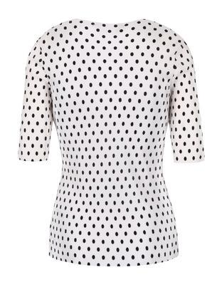 White shirt with black polka dots Dorothy Perkins - 2