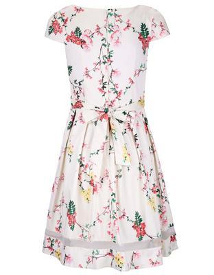 Cream floral dress with sheer stripe Dorothy Perkins - 2