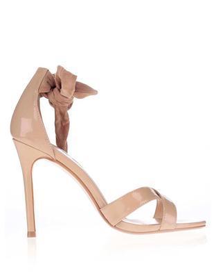 Béžové sandály na jehlovém podpatku Dorothy Perkins - 2