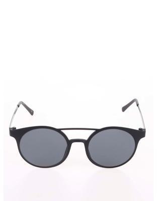 Černé matné unisex sluneční brýle Le Specs Demo Mode - 2