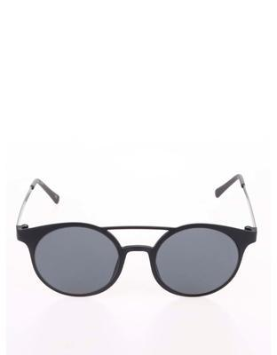 Čierne matné unisex slnečné okuliare Le Specs Demo Mode - 2
