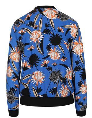 Blue flowered bomber Dorothy Perkins - 2