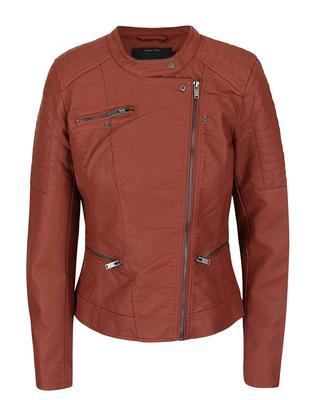 Brick leatherette jacket ONLY New Start - 2
