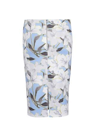 Blue flowered skirt Miss Selfridge - 2