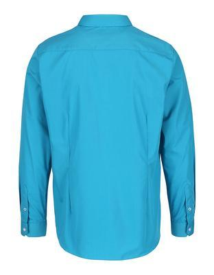 Turquoise formal slim fit shirt Burton Menswear London - 2