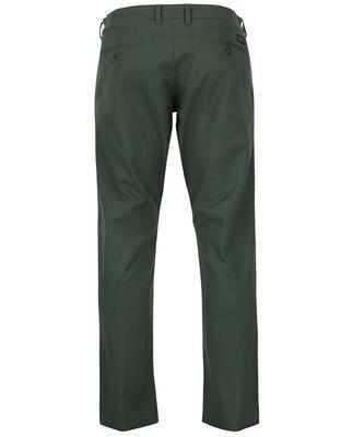 Tmavě zelené kalhoty Selected Three Paris - 2