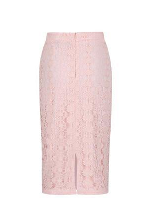 Sleeve light pink skirt with a high waist Dorothy Perkins - 2