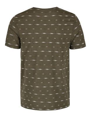 Olive green patterned shirt Jack & Jones, Steve - 2