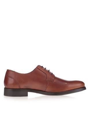 Brown leather shoes Selected Oliver - 2