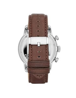 Brown's watch with leather strap Fossil - 2