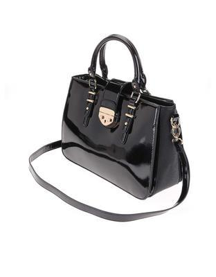 Black patent handbag Clarks Miss Chantal - 3
