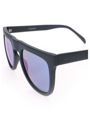 Černé unisex sluneční brýle Komono Bennet - 3