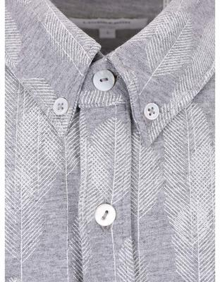 Gray patterned shirt Lindbergh Gibson Out - 3