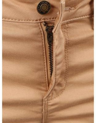 Light brown shorts Vero Moda Flex-It - 3