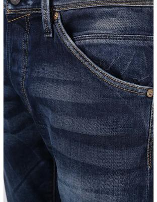 The blue straight jeans Jack & Jones Iglenn - 3