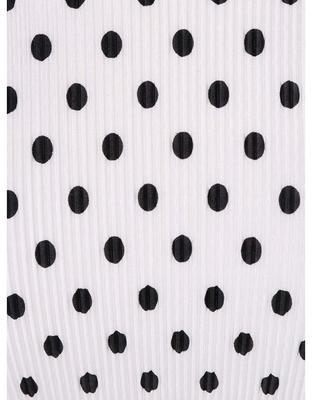 Bílé tričko s černými puntíky Dorothy Perkins, M - 3