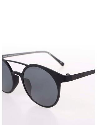 Čierne matné unisex slnečné okuliare Le Specs Demo Mode - 3