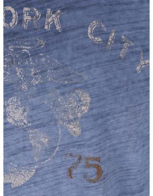 Modré triko s potiskem Jack & Jones Vance - 3