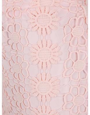 Sleeve light pink skirt with a high waist Dorothy Perkins - 3