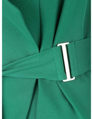 Zelený zavinovacie blejzer Dorothy Perkins - 3