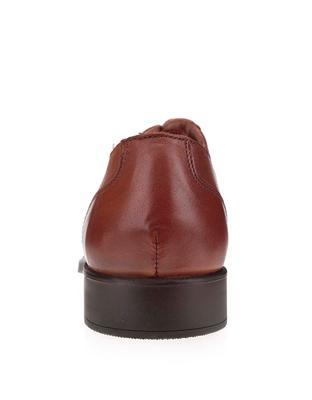 Brown leather shoes Selected Oliver - 3