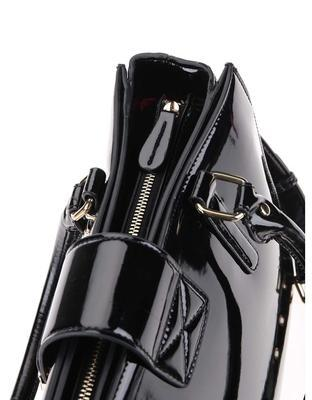 Black patent handbag Clarks Miss Chantal - 4