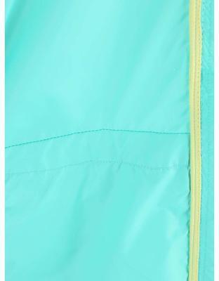 Turquoise ladies waterproof jacket with hood Bench Profitability - 4