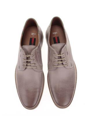 Grey men's leather shoes Lloyd Denia - 4