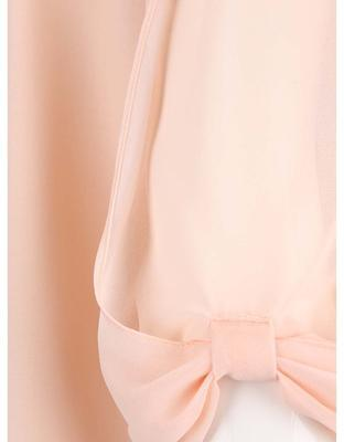 Light pink blouse with a neckline applications Dorothy Perkins - 4