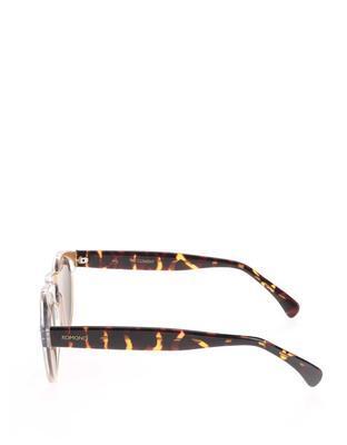Světle růžové unisex sluneční brýle Komono Clement - 4