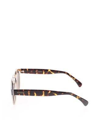 Light pink unisex sunglasses Komono Clement - 4