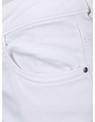 White jeans with frayed trousers Dorothy Perkins - 4