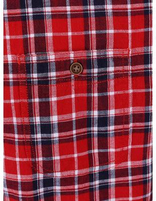 Blue-and-red checked shirt Burton Menswear London - 4
