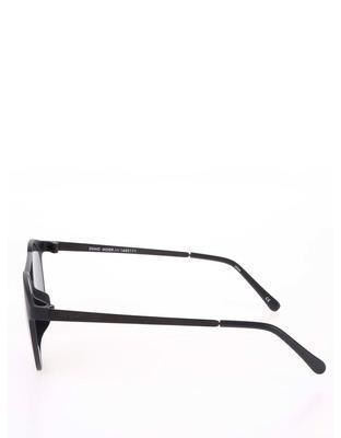Čierne matné unisex slnečné okuliare Le Specs Demo Mode - 4