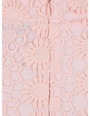Sleeve light pink skirt with a high waist Dorothy Perkins - 4