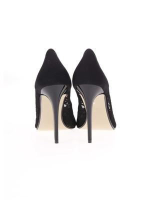 Black lace heeled pumps Dorothy Perkins Emie - 5