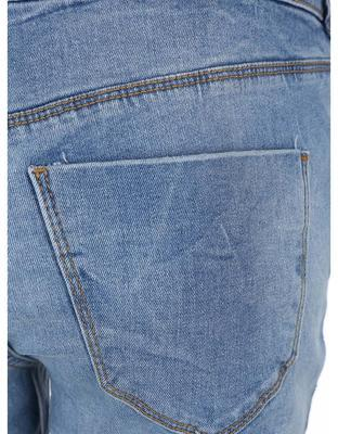Blue slim fit jeans with torn effect Vero Moda Five - 5