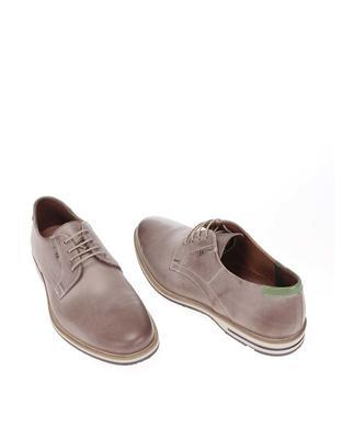 Grey men's leather shoes Lloyd Denia - 5