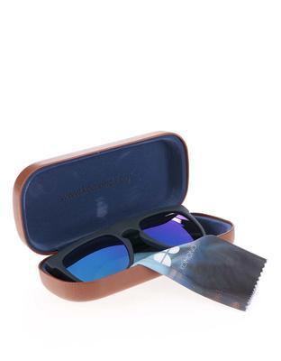Černé unisex sluneční brýle Komono Bennet - 5