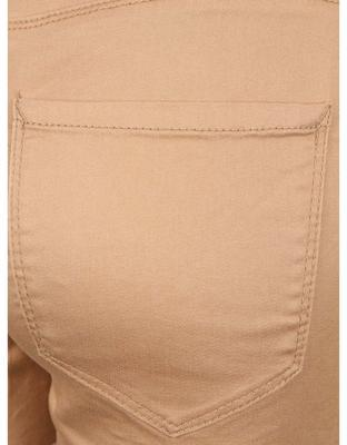 Light brown shorts Vero Moda Flex-It - 5