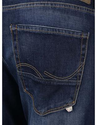 The blue straight jeans Jack & Jones Iglenn - 5