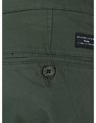 Dark green trousers Selected Three Paris - 5