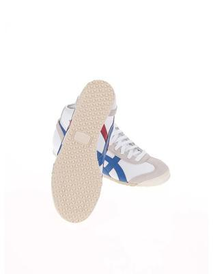 White unisex leather ankle sneakers Onitsuka Tiger Mexico Mid Runner - 6