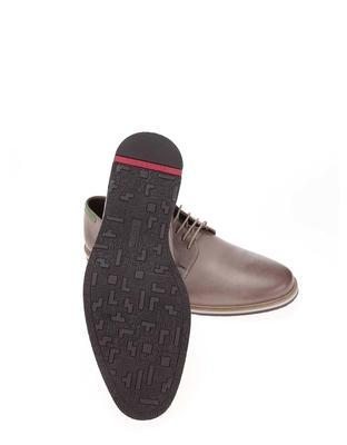Grey men's leather shoes Lloyd Denia - 6