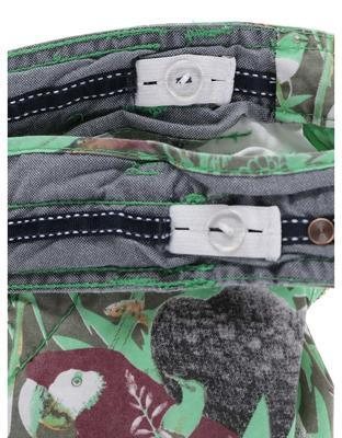 Green boys' shorts with birds Cars Jeans Sangro - 6