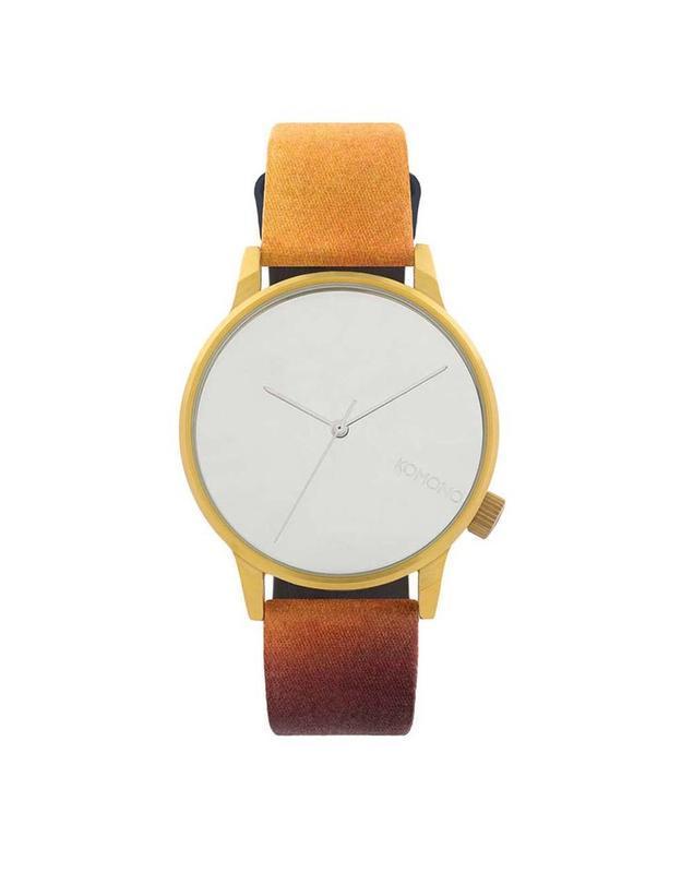 oXyShop Fashion - Farebné unisex hodinky s ciferníkom v zlatej farbe ... ce5dd266b12